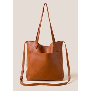 Faux Distressed Tote